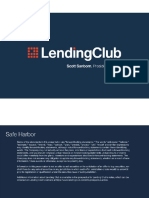 Lending Club Presentation Auto Loans October 2016