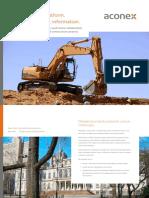 Aconex Construction Industry Brochure