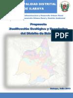 Informe Zee Ilabaya 2013