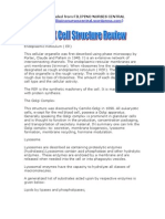NCLEX Cell Structure Review