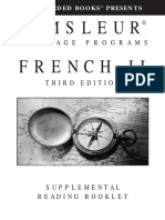 Pimsleur French II