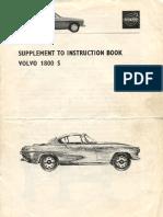 volvo p1800s stromberg 175 instruction book