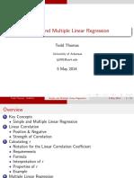STAT2303 - UARK Linear Correlation