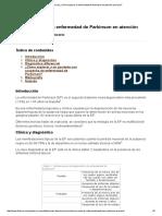 Técnica de ¿Cómo Explorar La Enfermedad de Parkinson en Atención Primaria_ 2012