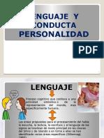 Personalidad Conducta Social y Lenguaje