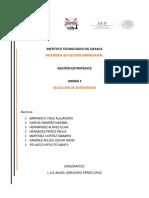 4.4 Adopción de Un Modelo Para La Formulación de Estrategias