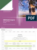 ISWA 2016 Program