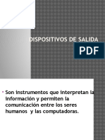 Dispositivos de Salida