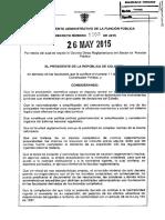 Decreto 1083 de 2015