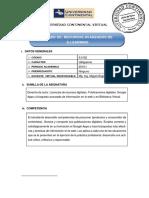 Silabo Recursos Avanzados 2016 1