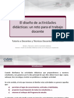 Diseño de Actividades Didácticas. EMS
