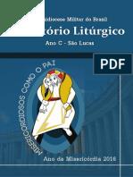 Diretório Litúrgico 2016 - São Lucas (Completo)