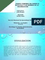 divulgacion diapositiva