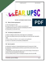 Clear UPSC Test 6