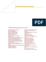 Pdf9951 - Create PDF Files Quickly and Easily