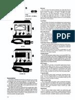 Boonton Micro Wattmeters Models 42 B, BD, C, CD IEEE-488 Interface