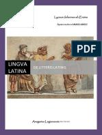 Libellus de Litteris Latinis (Novissimus)