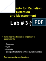 Instruments for Radiation Detection Lab 3