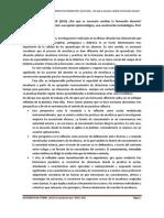 Documento 1 de Cátedra. Formar y Formarse. Dispositivos de Formación