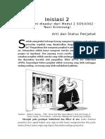 Inisiasi_2 Arti Dan Status Penjahat