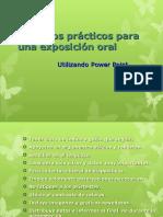 Consejos prácticos para una exposición oral.ppt