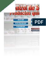 Control Stock Quimicos