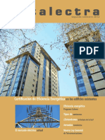 Certificación de Eficiencia Energética en Los Edificios Existentes
