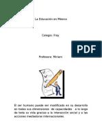 La Educación en México 1.docx