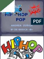 HIP – HOP        POP
