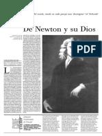 De Newton y su Dios