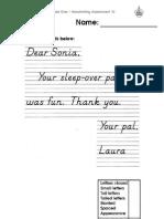 Handwriting Assessment 10