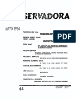 Revista Conservadora No. 44 May. 1964
