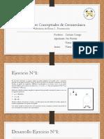 Aplicaciones Conceptuales de Geomecánica