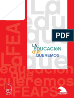 La Educacion Que Queremos AAVV FEAPS