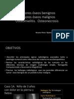 Diagnóstico Por Imagen - Tumores Oseos y Oteomielitis