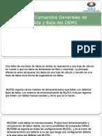 2.1.8 Admin de DB