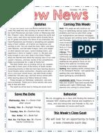 crew newsletter 10 28