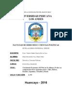 La Economía Del Perú Es La Septima Mayor Economía de América Latina en Términos de Producto Interno Bruto