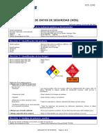 Hds Petrobras Gasolina Sp 95 Octanos