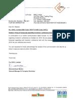 Transcript regarding Investors' conference [Company Update]