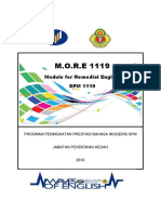 MORE 1119 Module for Remedial English SPM 1119 160616