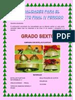 Manualidades de Sexto a 11 San Sebastian
