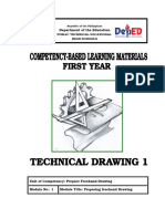 Y1 - Module 1 - Preparing Freehand Drawing