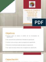 Capitulo 8 Diseño y evaluación de sistemas de capacitación.pptx