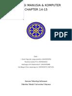 Interaksi Manusia Komputer Chapter 14-15