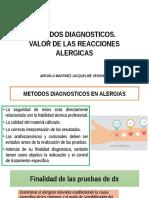METODOS DIAGNOSTICOS ALERGIAS