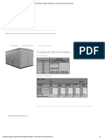 Products-Package Substation- Technical Characteristics
