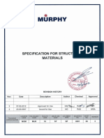 MOM MUR 10 ST SP 0001-00-03 Specification for Structural Materials