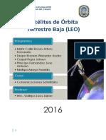 Satelites de Orbita Terrestre Baja (LEO)