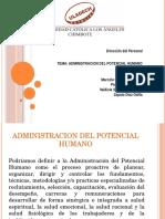 Administracion-Del-Potencial-Humano Expo de Direccion Viernes